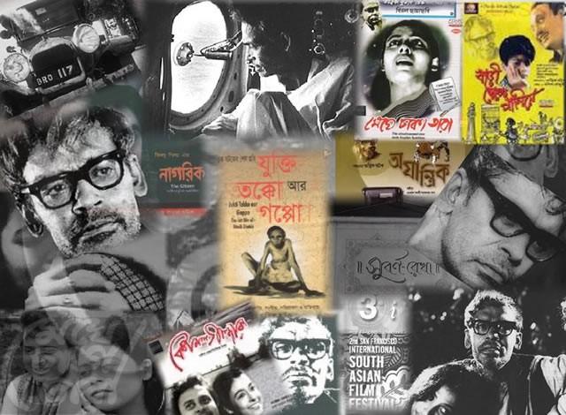Ritwik Ghatak Collage