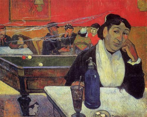 Night café, Arles- Arles, France, 1888