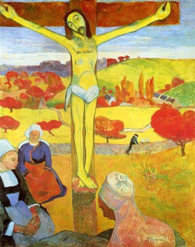 Yellow Christ- Pont-aven, France, 1889
